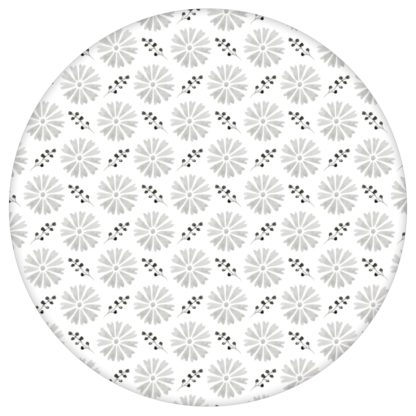 """Blumentapete """"Blümchen Glück"""" mit Aquarell Look, graue klassische Vlies Tapete Blumen für Küche aus den Tapeten Neuheiten Blumentapeten und Borten als Naturaltouch Luxus Vliestapete oder Basic Vliestapete"""