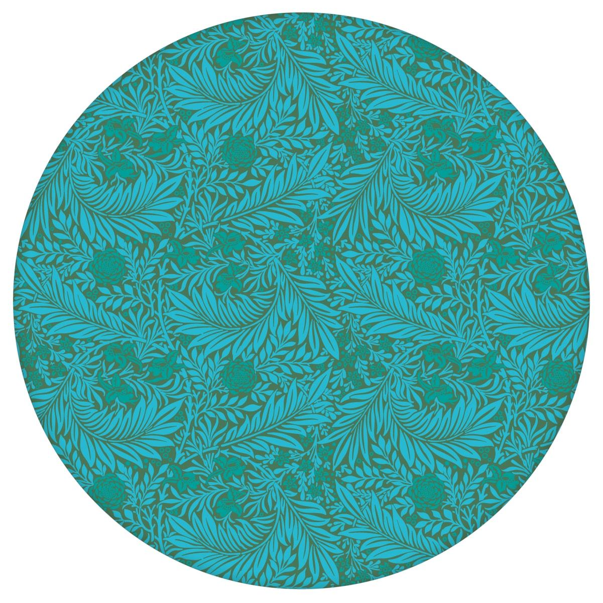 Türkis grüne, Jugendstil Tapete