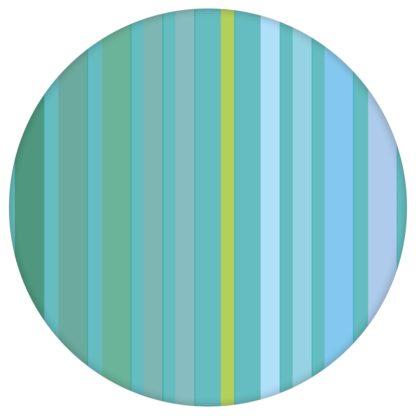 """Moderne Classic Tapete """"dekorativer Streifen"""" in edlen Farben, grün blaue Streifen Vliestapete Streifen für Küche aus den Tapeten Neuheiten Exklusive Tapete für schönes Wohnen als Naturaltouch Luxus Vliestapete oder Basic Vliestapete"""