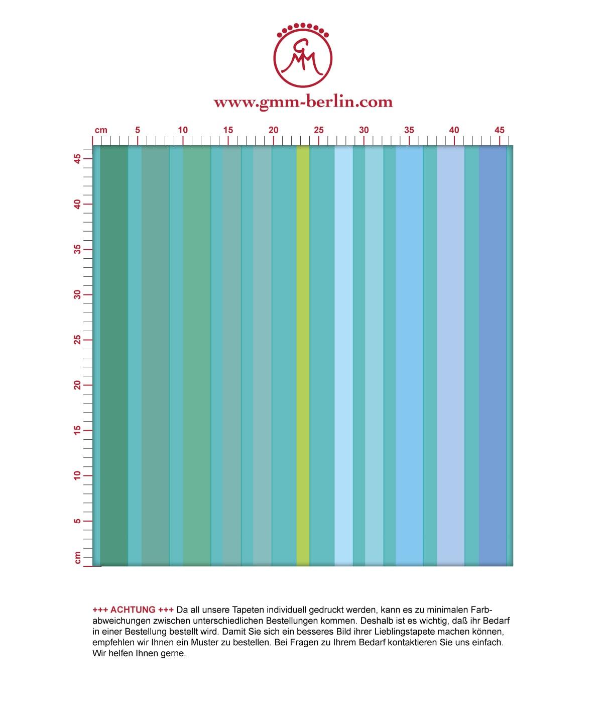 Aus dem GMM-BERLIN.com Sortiment: Schöne Tapeten in der Farbe: grün. Edle Wandgestaltung: Moderne Classic Tapete dekorativer Streifen in #design #modern #streifen #streifentapete #trend für individuelles Interiordesign