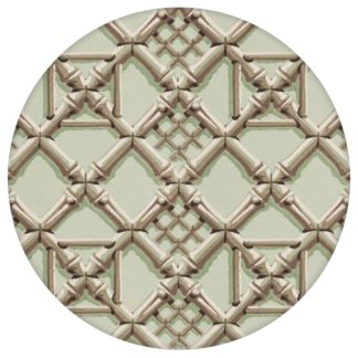 """Historische Tapete """"Bambusgitter"""", klassische, grafische Vlies-Tapete Wohnakzent für Esszimmer aus den Tapeten Neuheiten Exklusive Tapete für schönes Wohnen als Naturaltouch Luxus Vliestapete oder Basic Vliestapete"""